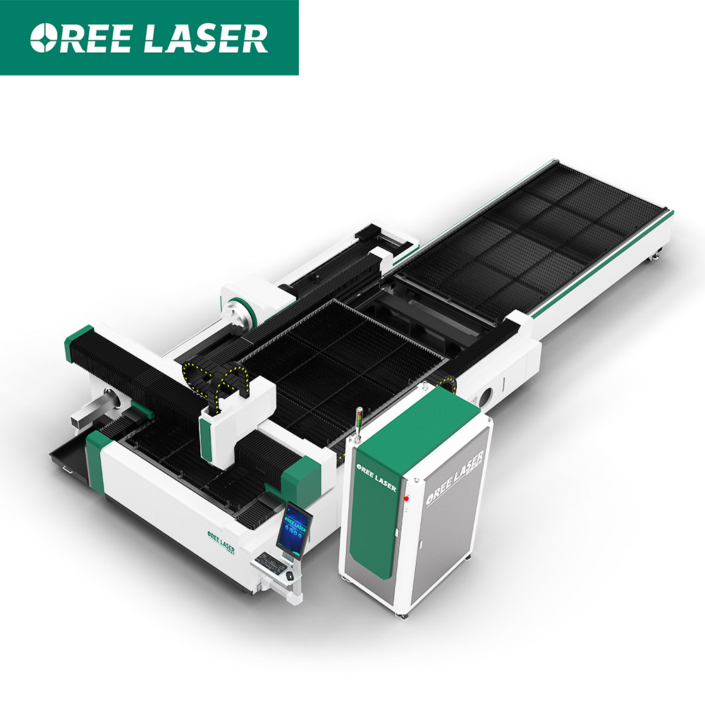 Exchange Table Sheet Tube Fiber Laser Cutting Machine ORET