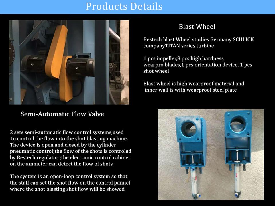 Single Hook Shot Blasting Machine for Metal Surface Cleaning