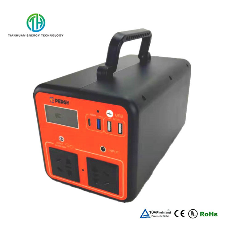 Solar Generator 110V220V ACDC 500W Portable Power Station for Outdoors and Home Emergency