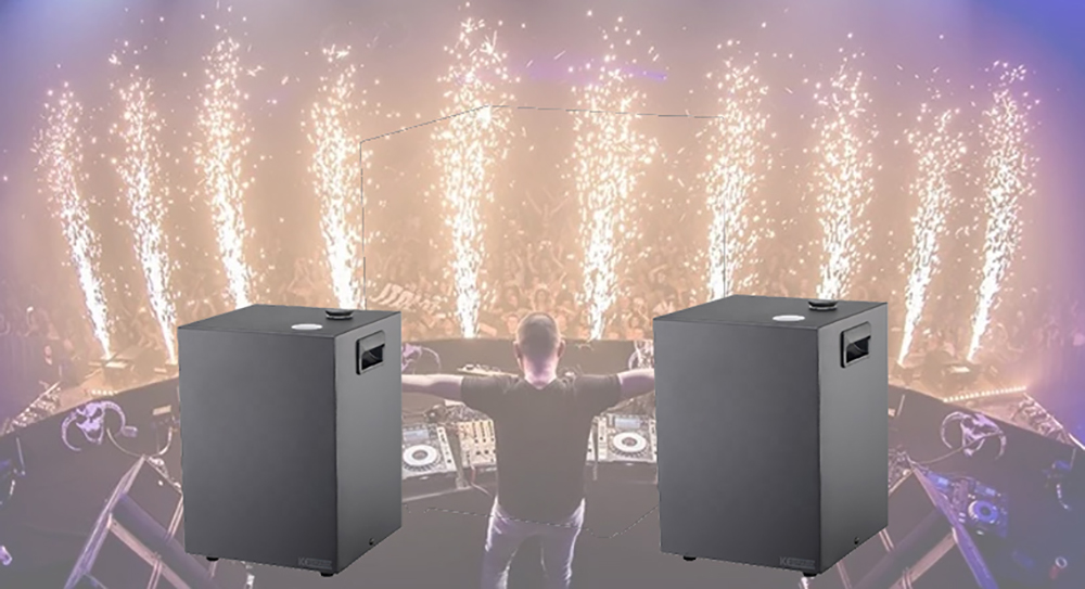 Indoor Cold Fountain Fireworks Spark Machine Mini Stage Effect DJ Equipment for Wedding Disco Party