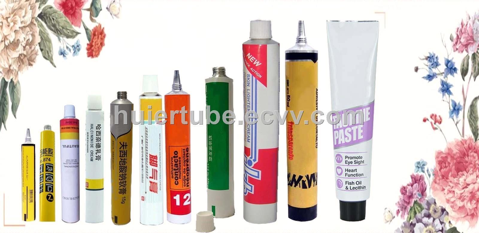cosmetic aluminum tube collapsible laminated tube cosmetic packaging medicinel packaging