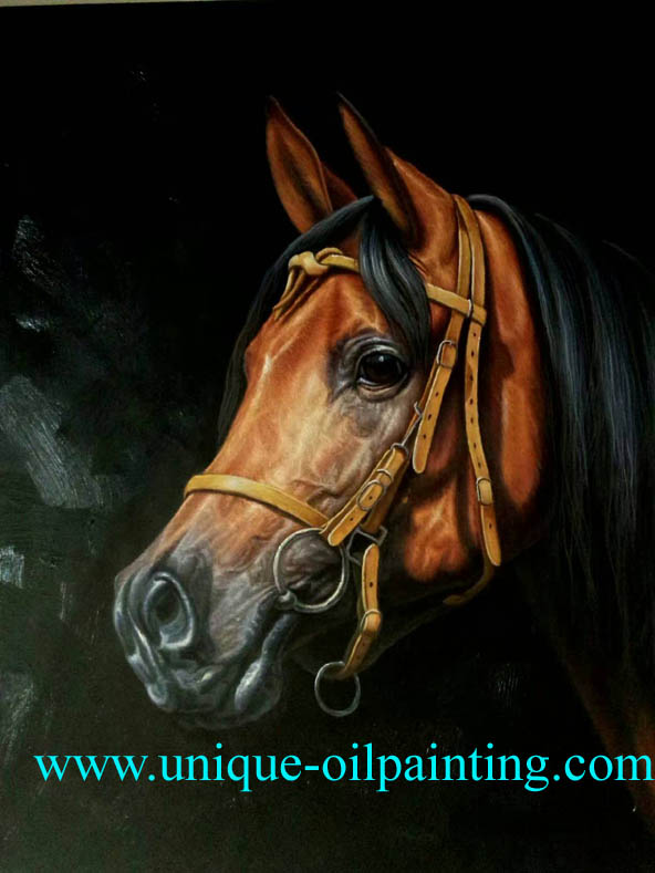 horse oil painting animal oil painting