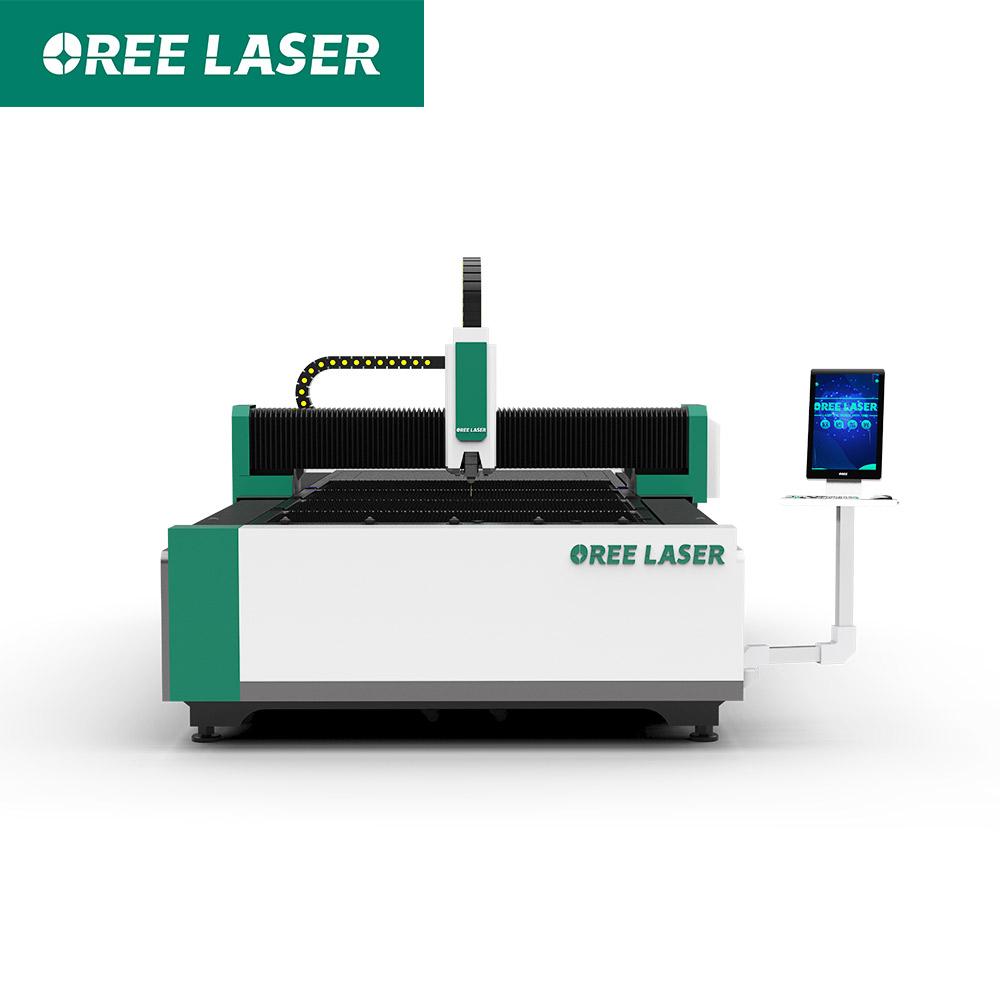 flate metal fiber laser cutting machine