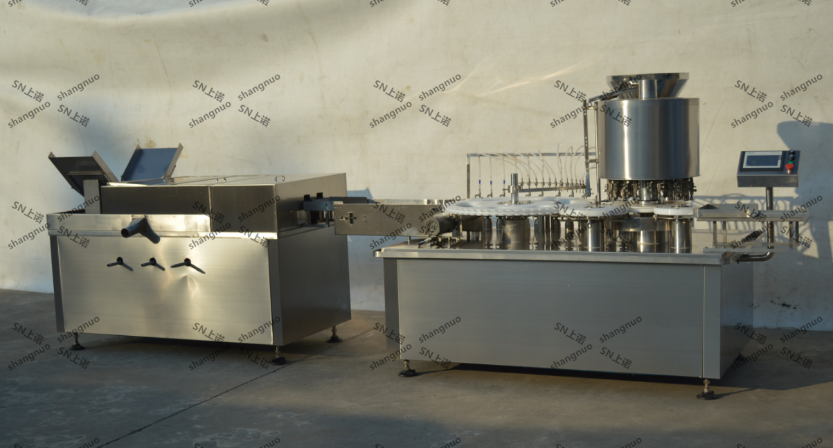 Full Automatic Glass Bottle Oral LiquidMedication Syrup Filling Production Line Machine