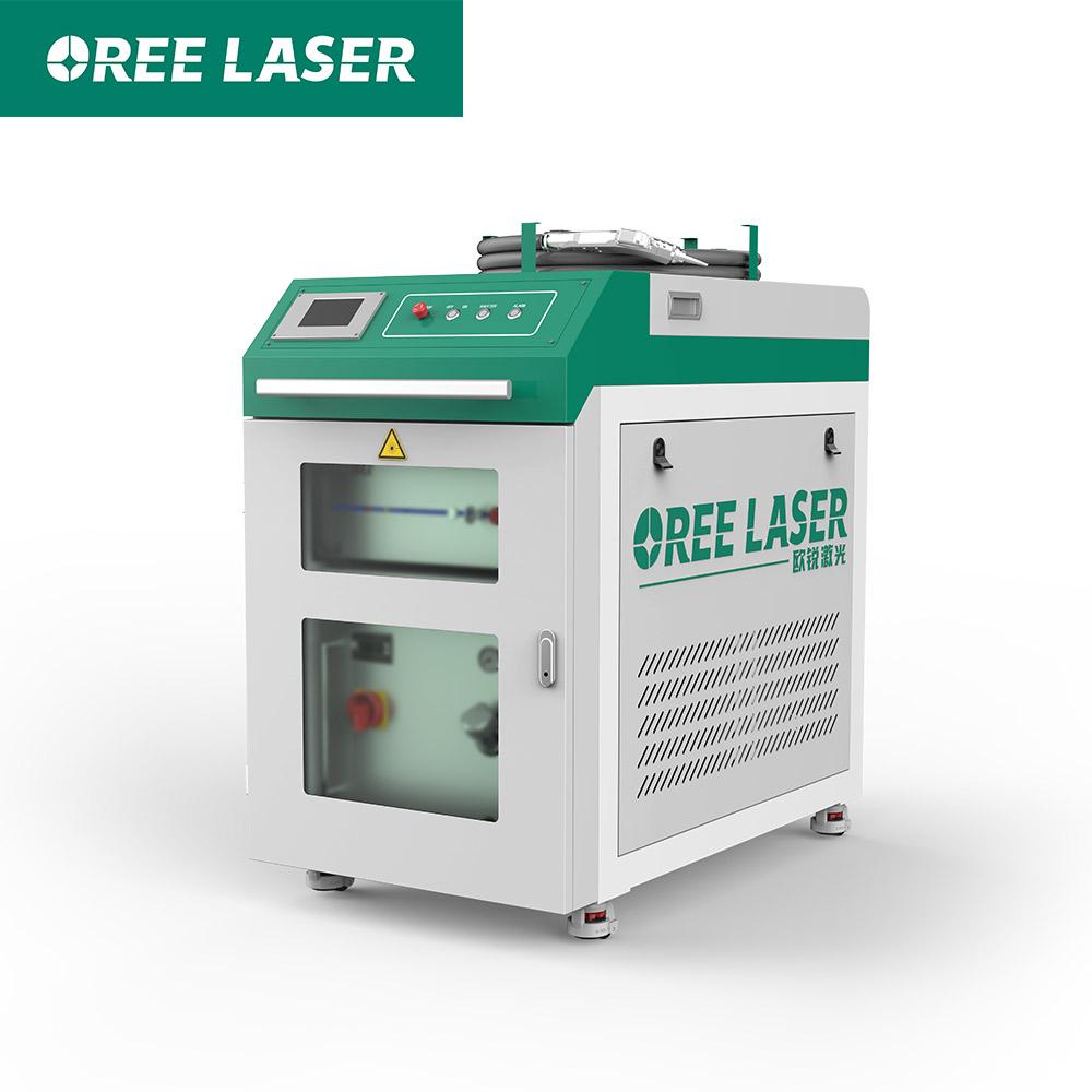 Hand held laser welding machine for steel aluminum fiber laser welding