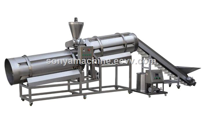 breakfast cereals processing lineCereal breakfast production linePuffed grains