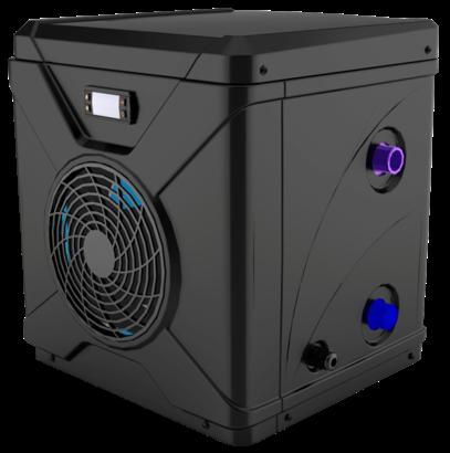 3kw7kw Mini pool heat pump for aboveground pool heating
