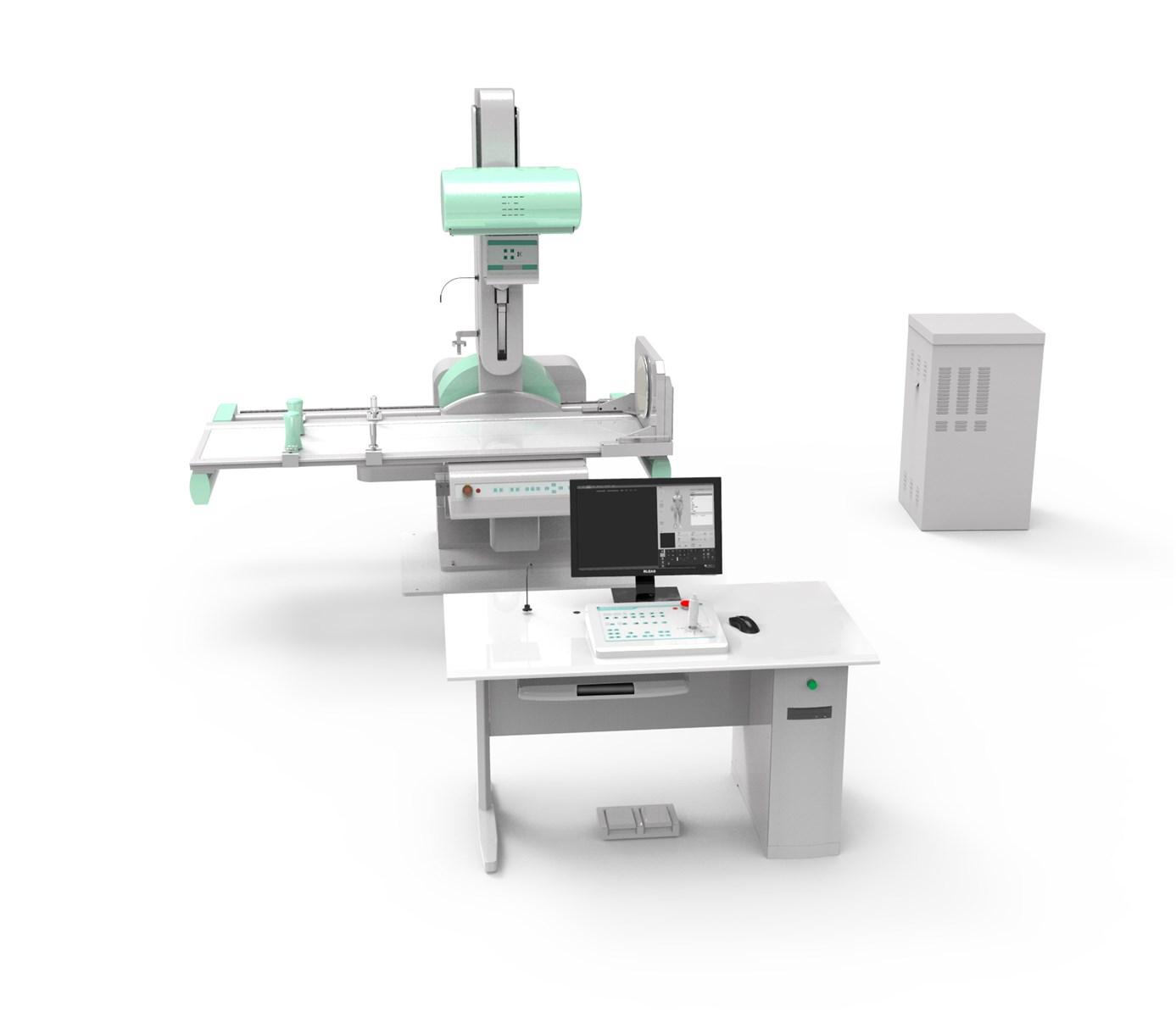 PLD8600D Deluxe Model HF Digital Radiography Fluoroscopy System