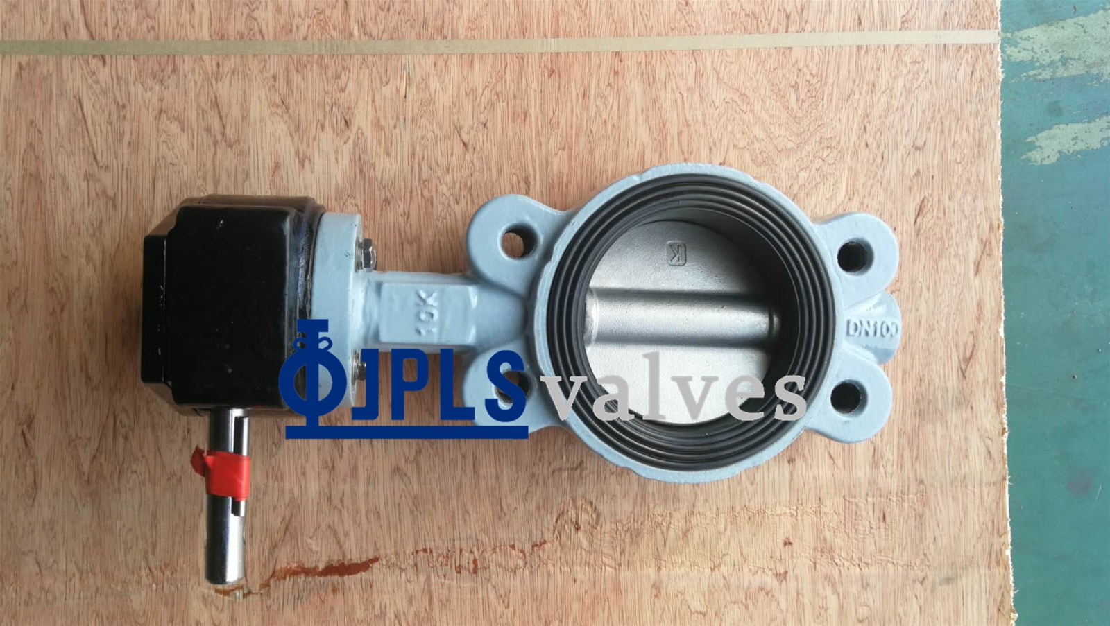 Gear Operated Ductile Iron Vseries Marine Wafer Butterfly Valves