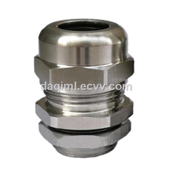 Stainless steel IP68 waterproof cable gland