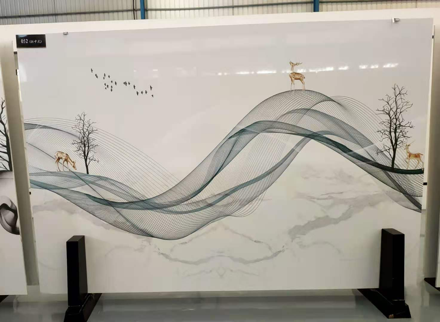 3D print boards 3D artificial marble slabs