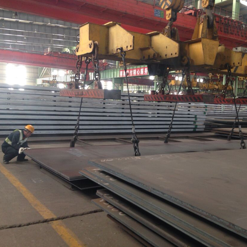 Prime quality Q460C high strength low alloy steel plate China exporter