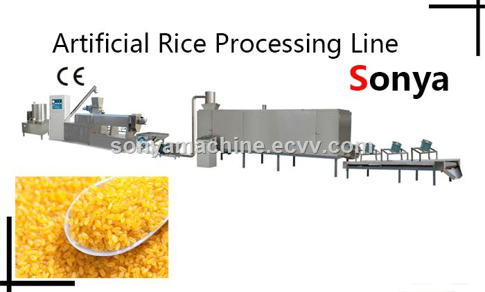 artificial rice processing lineArtificial rice production lineNutritive rice production line
