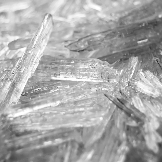 Very Pure Organic Menthol Crystals