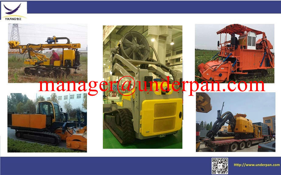 Custom hydraulic heavy equipment crawler steel track undercarriage from YIJIANG factory design
