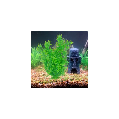 Fish Tank Plastic Plants Oplismenus Compositus