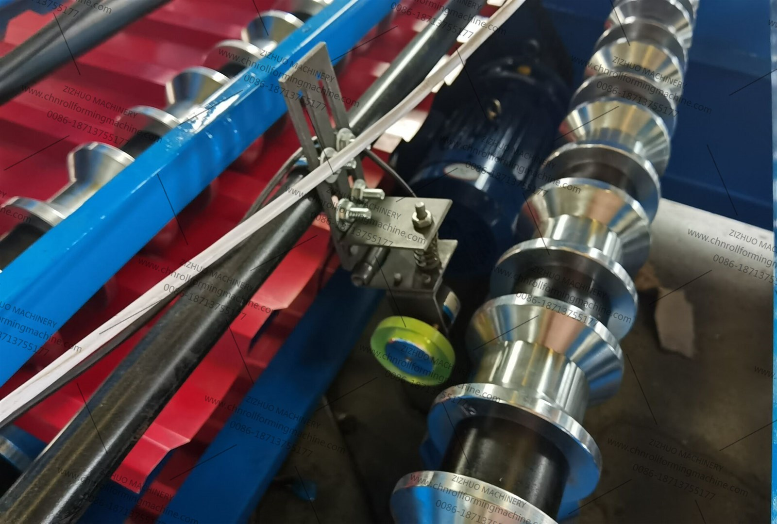 Mexico Roofing sheet roll forming machine