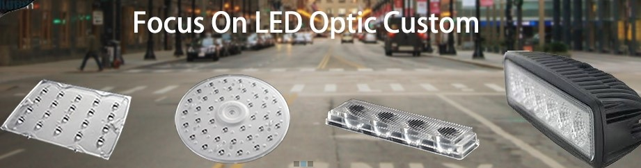 Custom High Power LED Optical Lens for Street Light