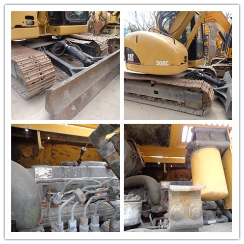 Used CATERPILLAR 308C crawler excavator on sale
