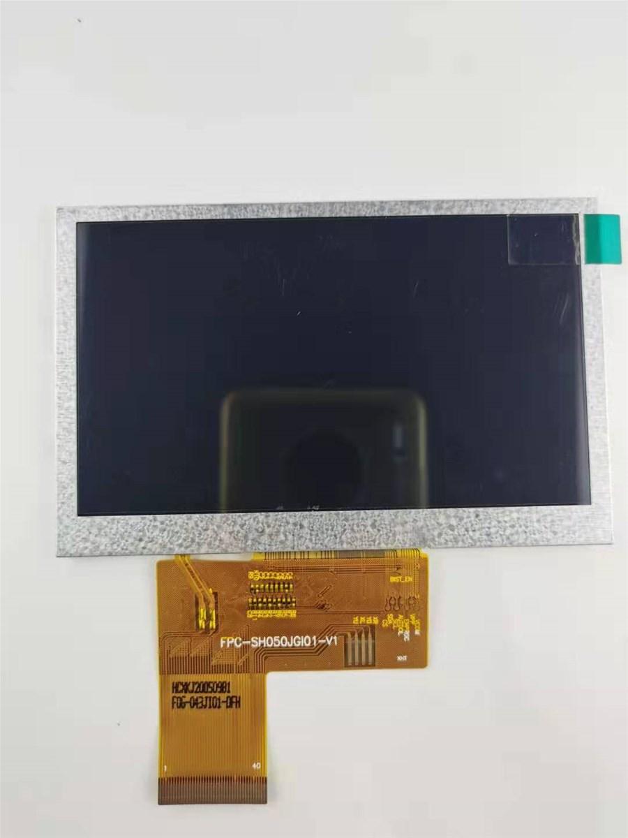 43 TFT LCD Module800x480 800nitsHL043T3501IPS free view angle