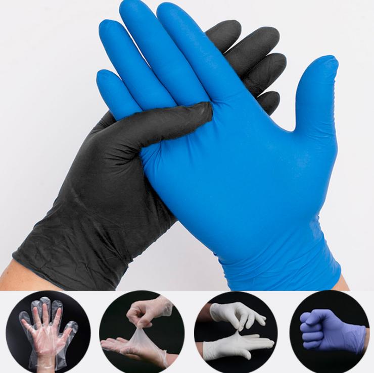 1000pcspacking highend disposable civil standard nitrile gloves