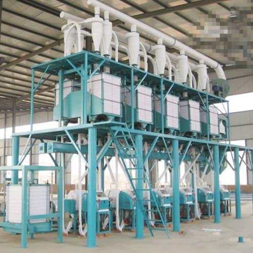 100TPD Wheat Flour Mill Plant for Sale