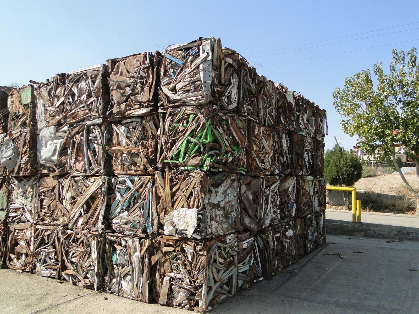 scrap metal recycling baler equipment machine hot sale