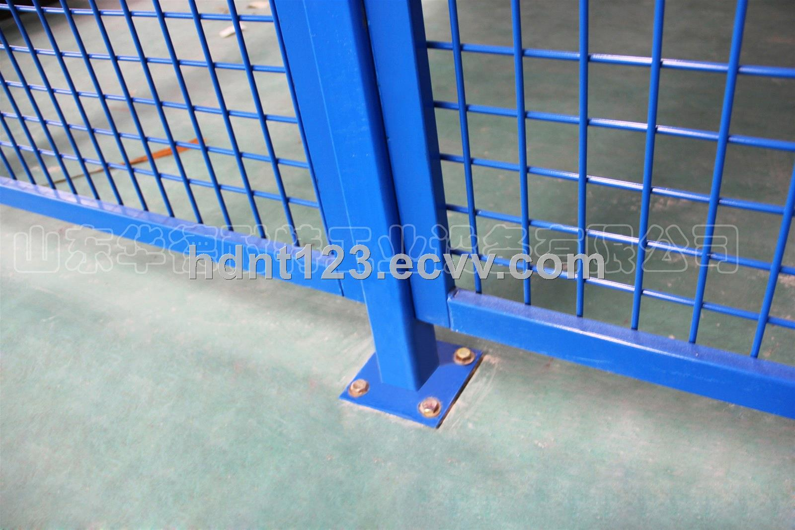 Warehouse Partition Isolation Network Safety Workshop Metal Fence
