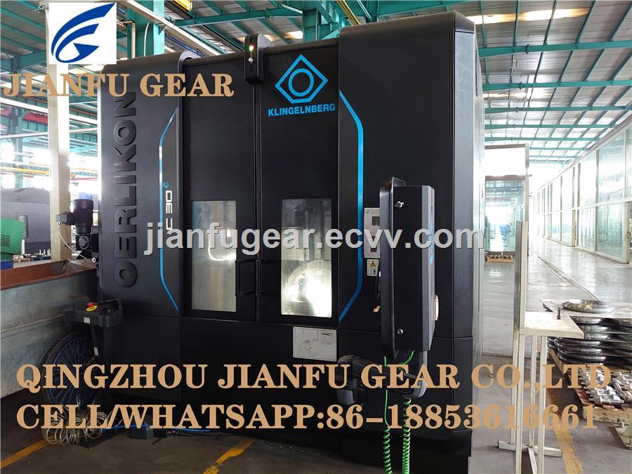 High Precision CNC Machining Steel Spiral Bevel Gear Set