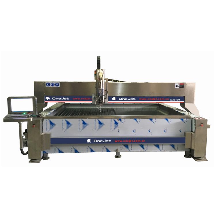 waterjet cutting machine for stone cutting