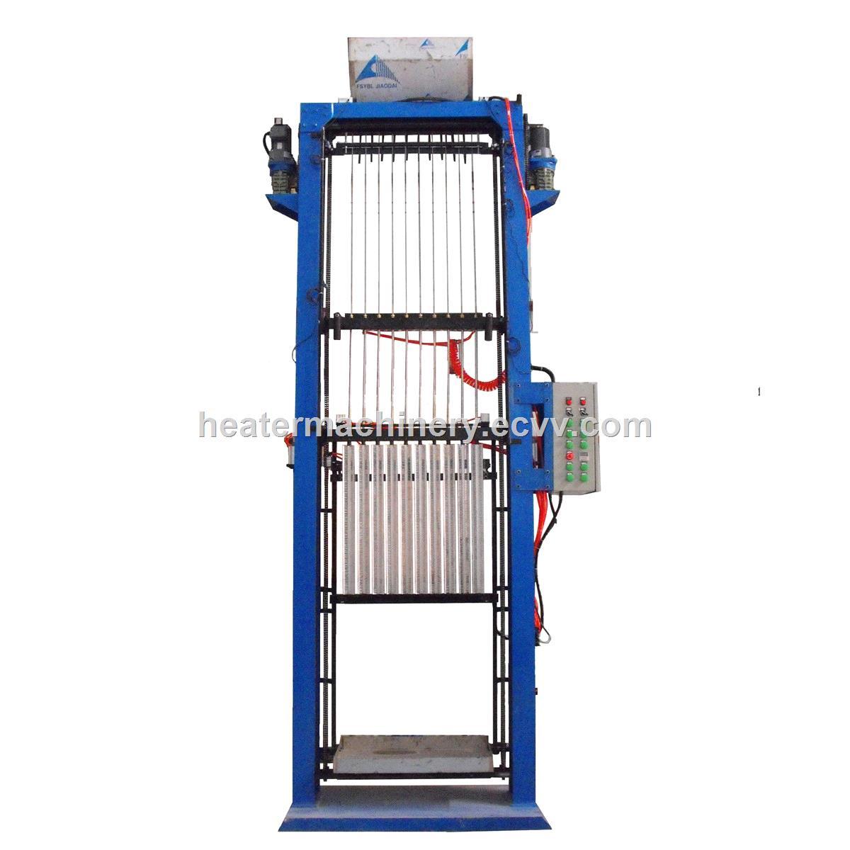 X type aluminum heating element filling machine 10 station