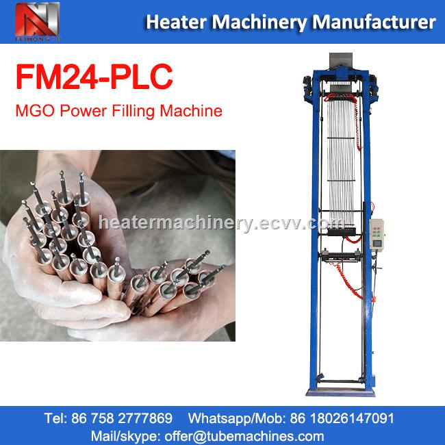 tube heaters MGO powder filling machine CHINA manufacturer