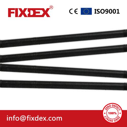 Threaded Black Thread Rod High Strength DIN975 Threaded Barrod Black