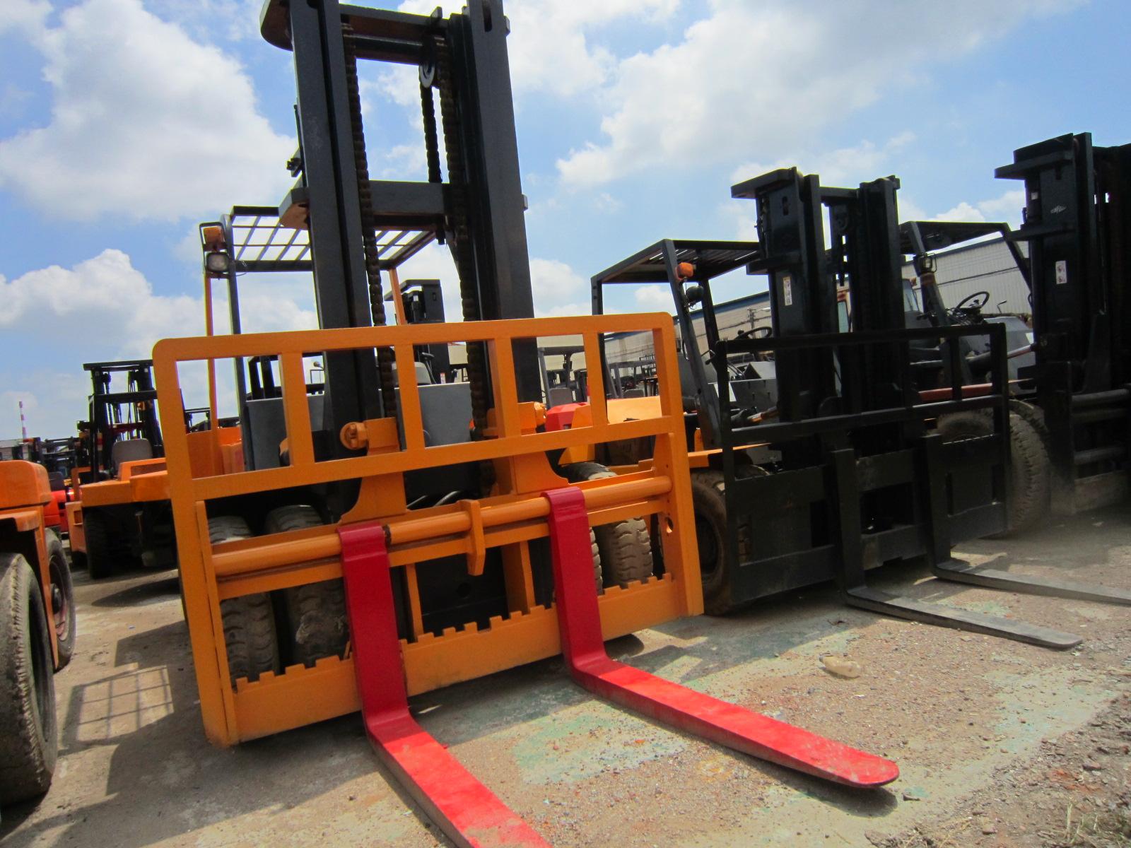 Second Hand Used 10 Ton TCM Forklift Japan Made Used KoMatsu Tcm 25t 3t 5t 6t 10t 20t Forklift