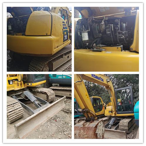 Used KOMATSU PC708 crawler excavator on sale