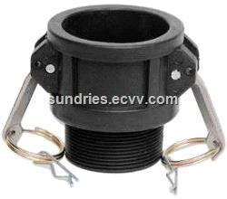 Stainless Steel IBC Tote Tank Adapter S60x6 2 Female Thread to Various Size of Hose Tail or BSP Male Thread