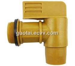 IBC Tote Tank Drain Adapter Threaded Cap Lid Garden Hose Connector 34 Inch Tap Faucet IBC Spare Parts Accessories