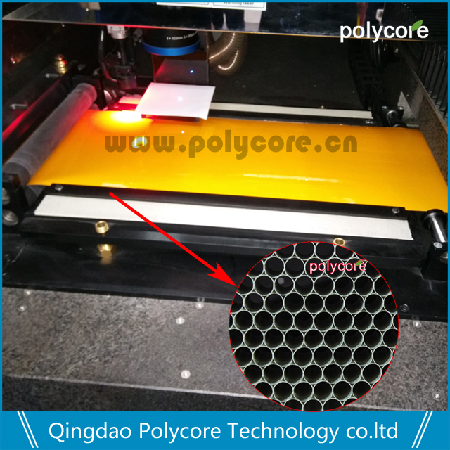 UV Laser cutting machine accessory part PC honeycomb plate