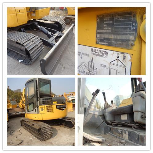 Used KOMATSU PC78US crawler excavator on sale