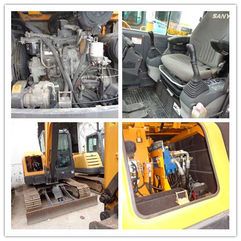 Used SANY SY55C crawler excavator on sale
