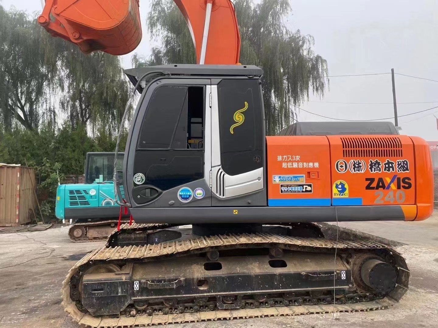 HITACHI ZX2403G 24Ton japan made hitachi ZAXIS 240 ZX240 used excavator for sale
