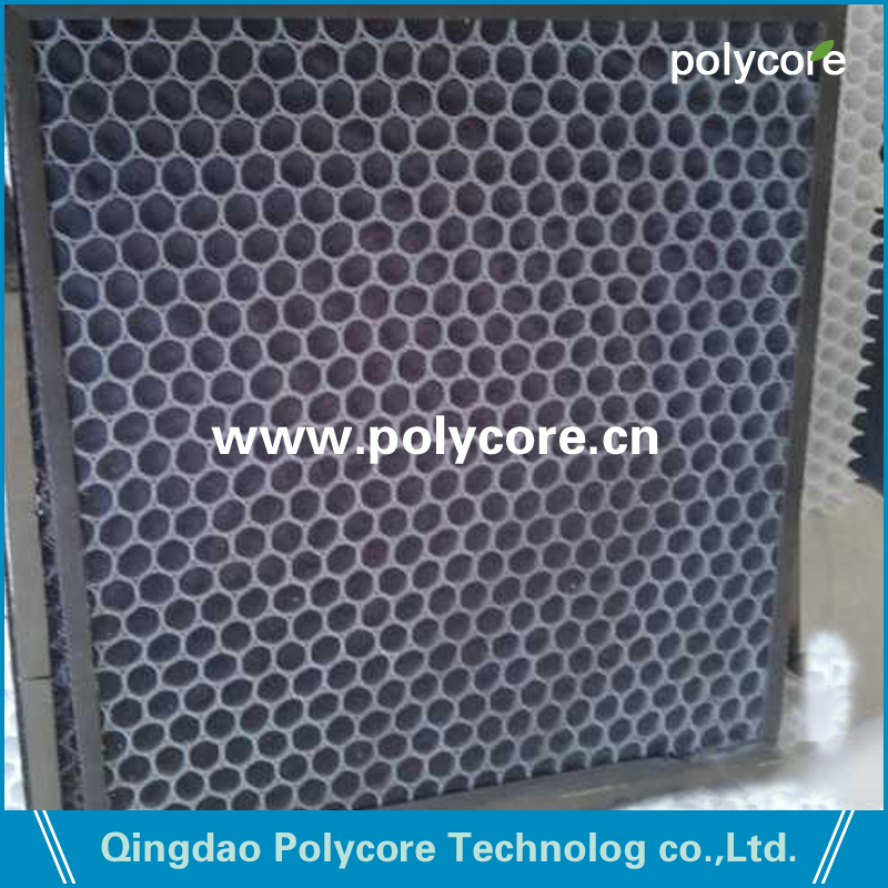 PP honeycomb corecell 16mm as frame in air filter