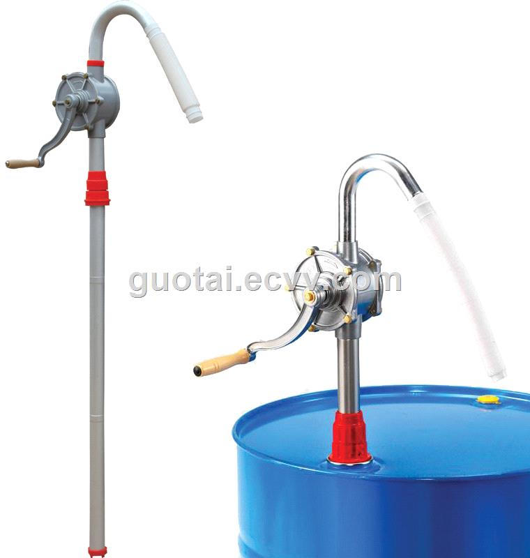 Aluminum Hand Rotary Oil Diesel Fuel Drum Barrel Pump