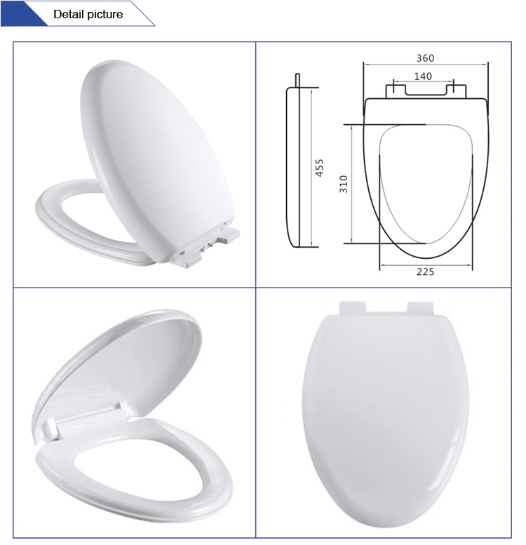 Sanitary Ware Ceramic Bowl Flapper Soft Close Bidet Kids Elongated Elevated Wooden Raised Heated Toilet Seat