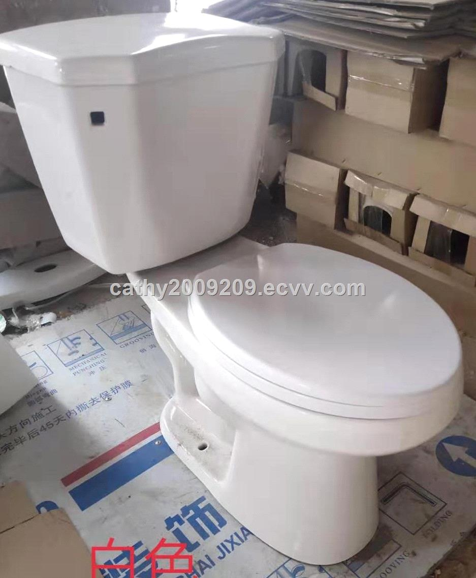 two piece toilets trapSouth America Siphonround front