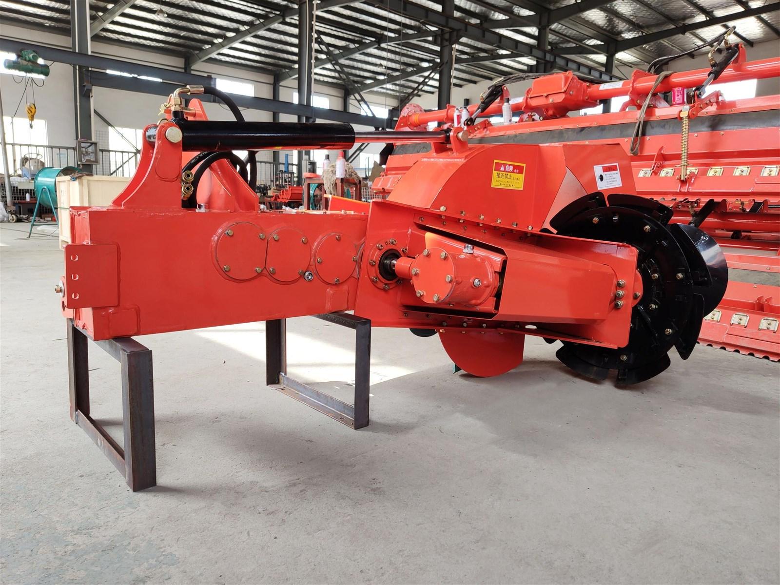 High Speed Rice Field Tractor Mounted Ridger Making Machine