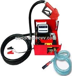 1224V DC Electric Oil Diesel Fuel Transfer Pump Diesel Fuel Dispenser 175W 45LMin