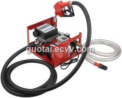 Diesel Kerosene Transfer Pump Kit 12V DC Portable Fuel Dispenser Self Priming Oil Bio 45LMin