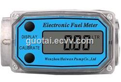 Gravity Flow Manual Fuel Dispenser Aluminum Nozzle with Flow Meter