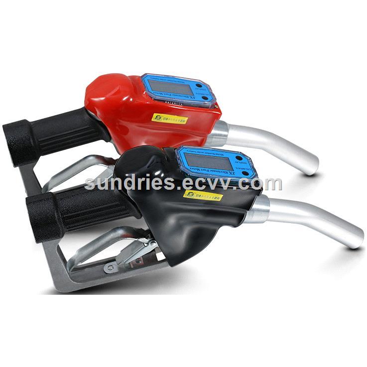 Automatic Fuel Dispenser Nozzle with Turbine Electronic Flow Meter Metering Diesel Fuel Dispensing Spout
